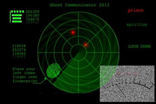 Ghost Communicator 13 Detector poster