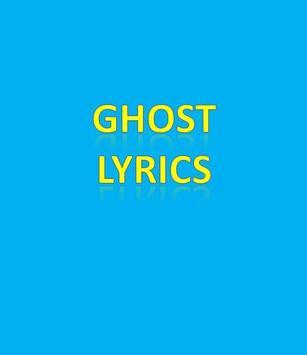 Ghost Lyrics poster