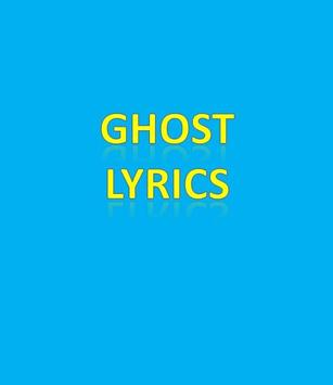 Ghost Lyrics poster