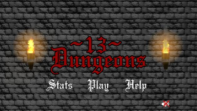 13 Dungeons poster