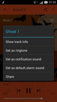 Scary Ghost Ringtones - Halloween Party screenshot 1
