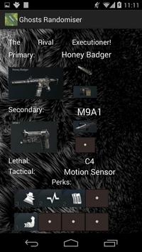 COD Ghosts Randomiser apk screenshot