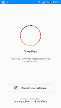 View & Save Instagram Stories Secretly - GhostView poster