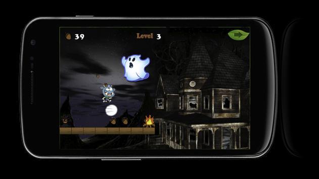 لعبة الغول المخيف طيور الجنة apk screenshot
