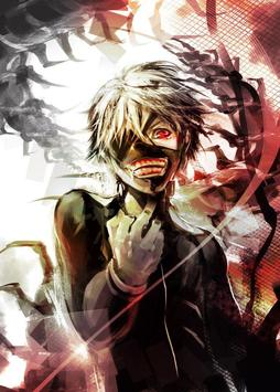 Ghoul kaneki ken wallpaper art poster
