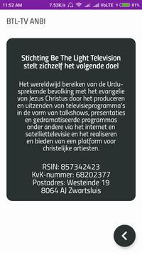 Be The Light TV screenshot 3