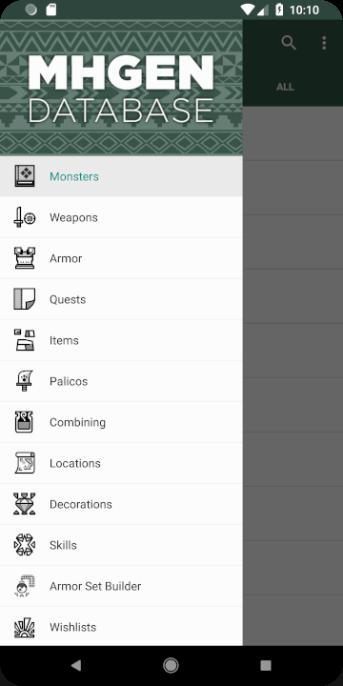 MHGen Database for Android - APK Download