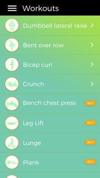 Correxercise: Core Workout App apk screenshot