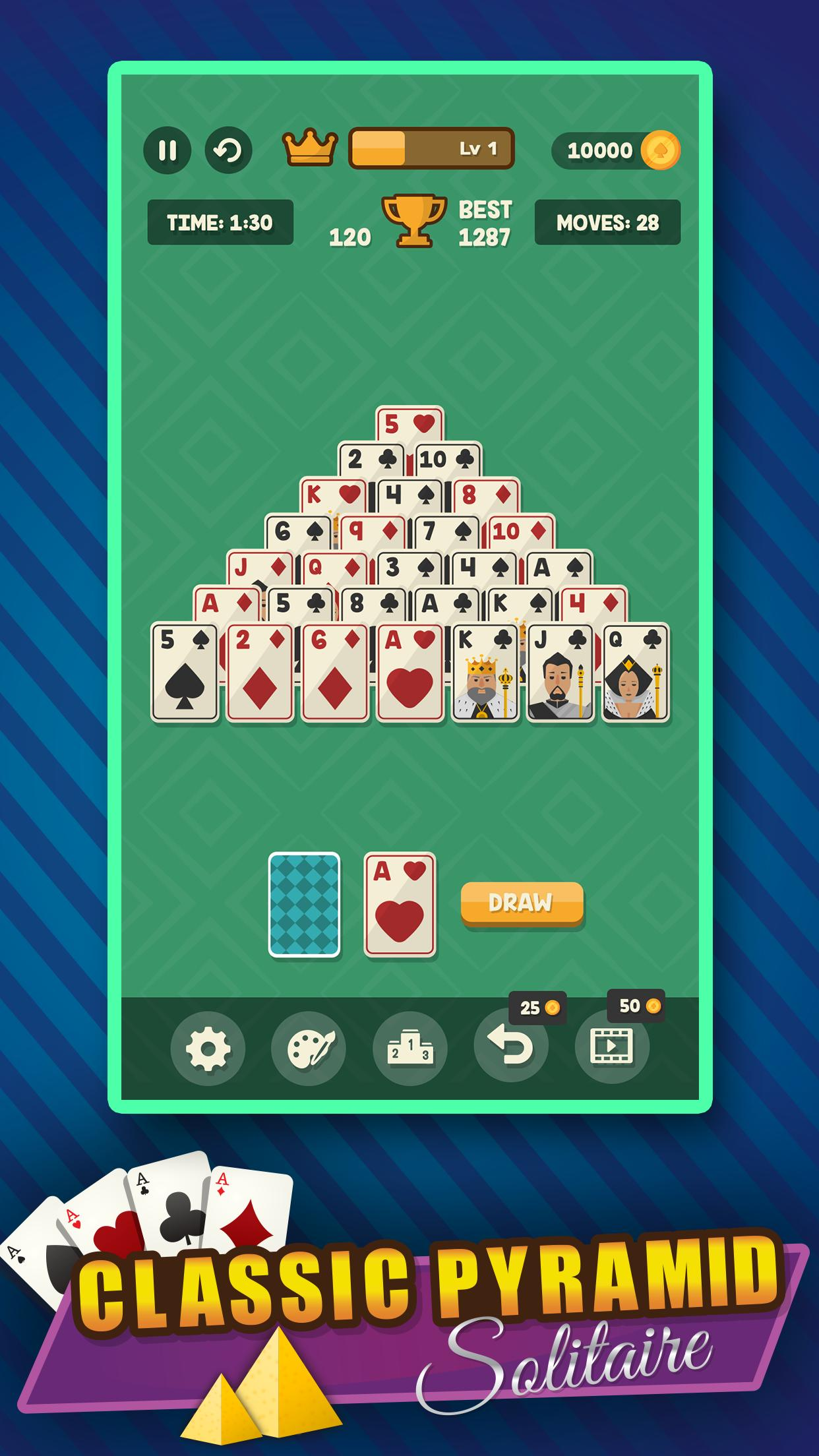 Pyramid Solitaire Card Classic For Android Apk Download