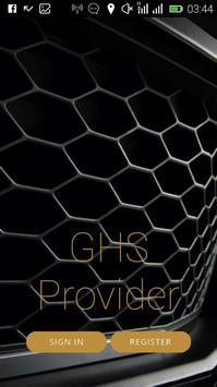 GHS PROVIDER poster