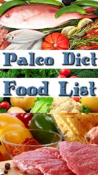 Paleo Diet Food List apk screenshot