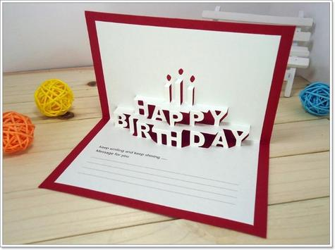 New Design Birthday Card Idea apk screenshot