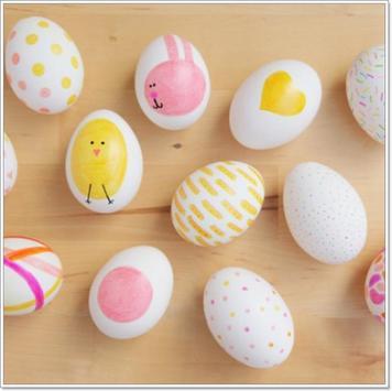 Fresh Idea Easter Egg Design poster
