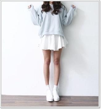 Cute Korean Fashion Trends apk screenshot