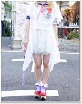 Cute Japanese Girl Fashion screenshot 13