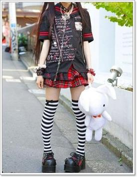 Cute Japanese Girl Fashion screenshot 3