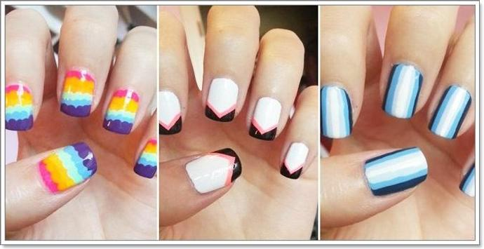 Nail Arts Tutorial for Girl screenshot 1