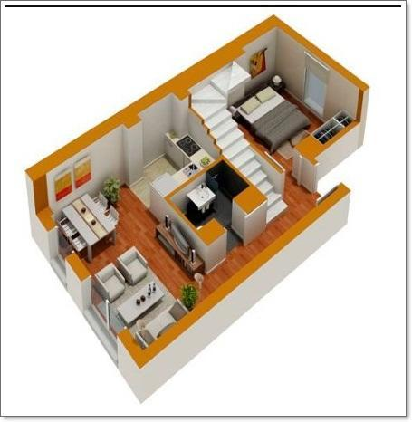 3D Small House Layout Design for Android - APK Download