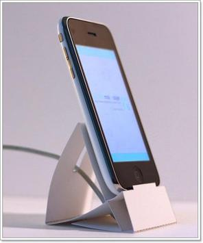 DIY Creative Phone Dock Design poster