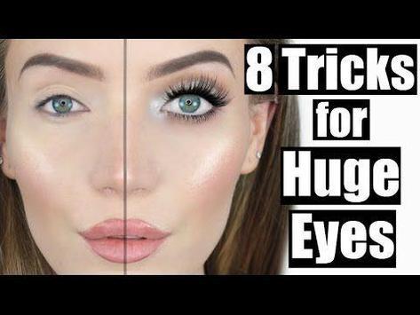 8 Tricks for huge eyes (giant) poster