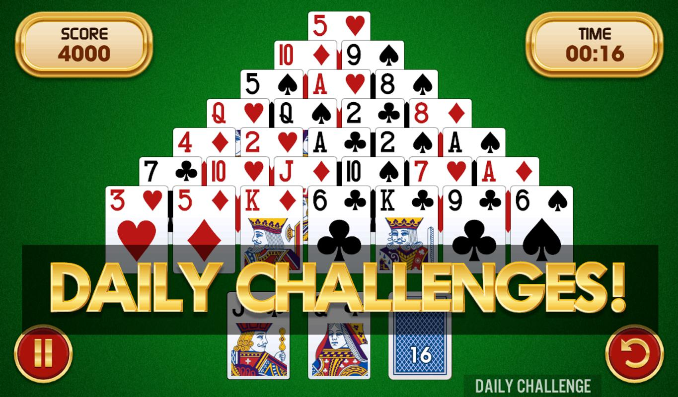 Play Pyramid Solitaire Online Free