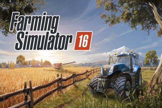 Farming Simulator 16 poster