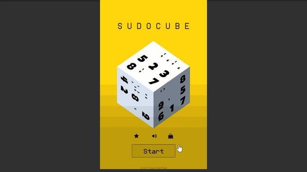 SudoCube - 3D Sudoku poster