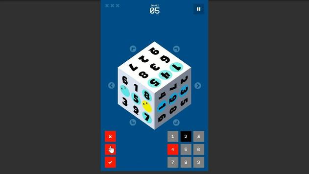 SudoCube - 3D Sudoku apk screenshot