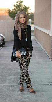 modern hijab fashion style poster