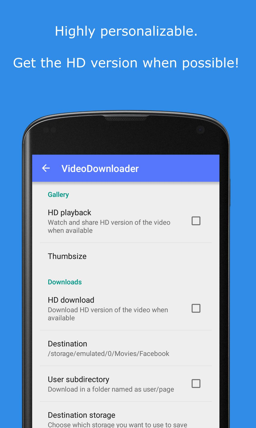 MyVideoDownloader Beta for Android - APK Download