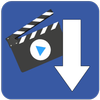 MyVideoDownloader for Facebook: download videos! biểu tượng