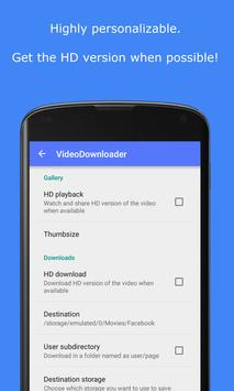MyVideoDownloader for Facebook: download videos! 스크린샷 3