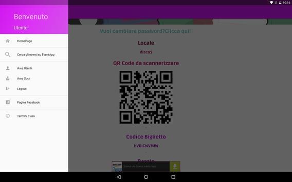 EventApp screenshot 3