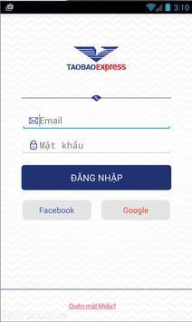Taobao Express Order poster