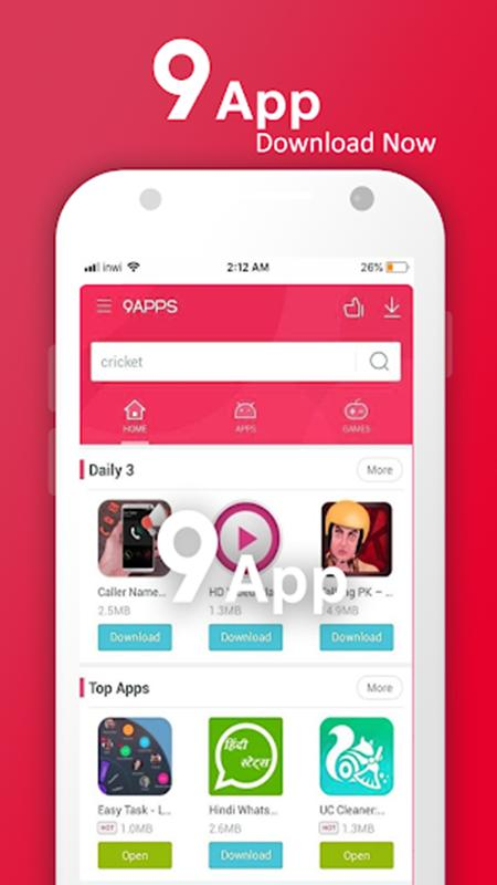 9 app download free fast
