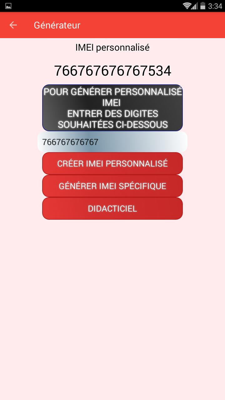 IMEI GENERATOR for Android - APK Download