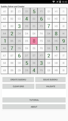 Sudoku solver and creator for Android - APK Download