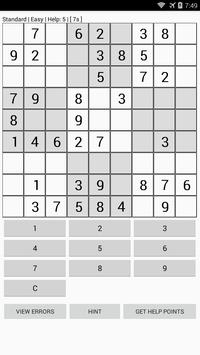 Sudoku plus plus screenshot 1