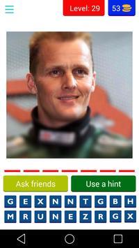 Formula 1 Drivers Quiz screenshot 1