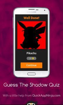 Guess the Shadow quiz apk screenshot
