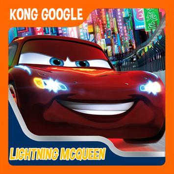 mcqueen racing games poster