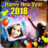 Happy New Year 2018 Frames icon