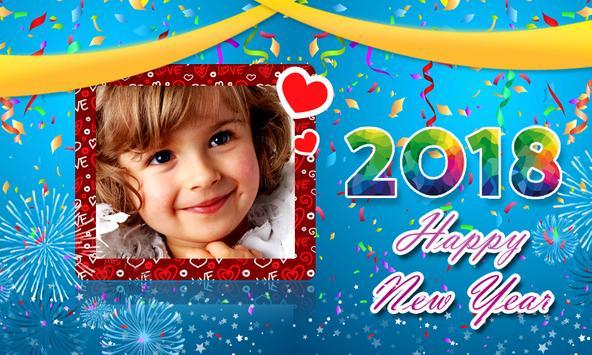 Happy New Year 2018 Frames apk screenshot