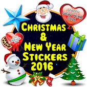 Christmas & New Year Stickers icon
