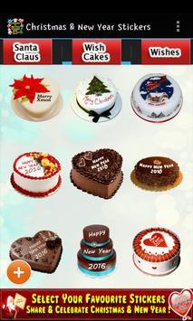 Christmas & New Year Stickers apk screenshot