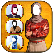 Hijab Woman Photo Montage icon
