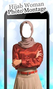Hijab Woman Photo Montage screenshot 2