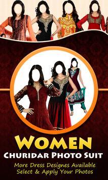 Women Churidar Photo Suit poster