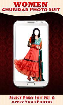 Women Churidar Photo Suit apk screenshot