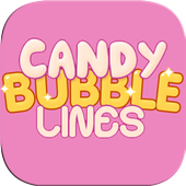 Candy Bubble Lines icon